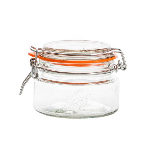 Norgesglass 0,2l – hengslet lokk