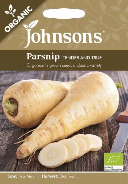 Pastinakk 'Tender and True' - Organic