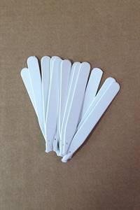 Bilde av Etiketter 15 cm, hvit - 100 stk