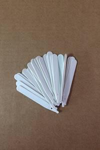 Bilde av Etiketter 10 cm, hvit - 100 stk