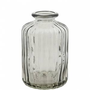 Bilde av Minivase, sylinder grå 10 cm