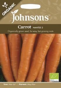 Bilde av Gulrot 'Nantes 2' - Daucus carota - Organic
