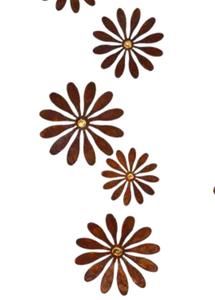 Bilde av Blomst til oppheng 15 cm, daisy gold - 1 stk