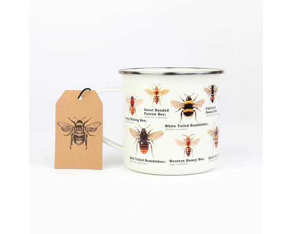 Emaljekopp, bier og humler
