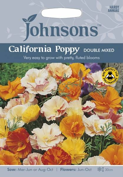 Kaliforniavalmue 'Double Mixed' - Eschscholzia californica