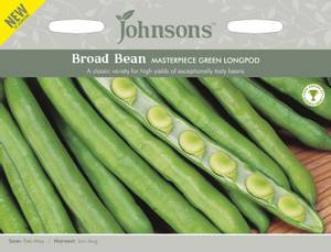 Bilde av Bønne 'Masterpiece Green Longpod' - Bondebønne