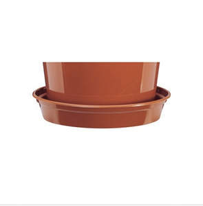 Bilde av Plastfat til 25,4 cm potter, brun