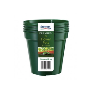 Bilde av Plastpotte 15 cm, 3 pk, grønn