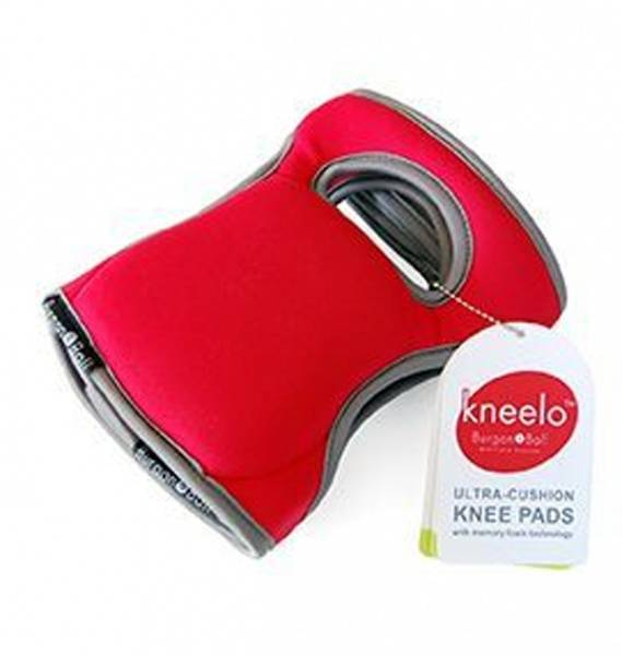 Knebeskyttere 2-pk, Kneelo® – rød