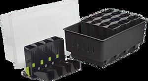 Bilde av Miniveksthus – rootmaster svart